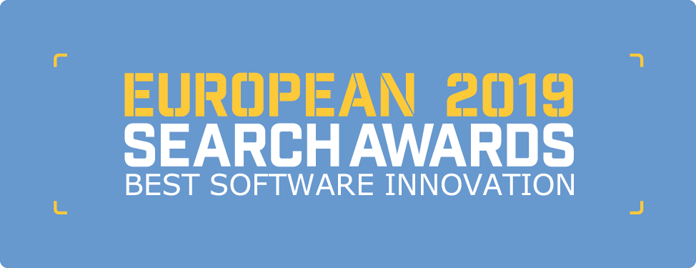 The European Search Awards 2019 - Best Software Innovation