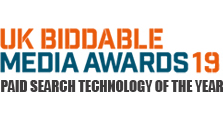 UK Biddable Media Awards 2019 - Paid Search Technology